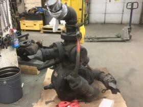 Asphalt Pump Repair Before Picture