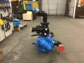 Asphalt Pump Repaired and Reconditioned