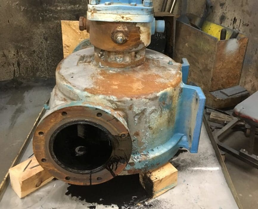 Asphalt Pump Repair
