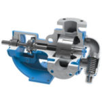 Viking PUmp Internal Gear Cutaway