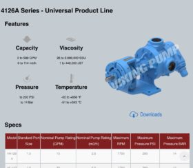 Viking Pump Product Details Sample